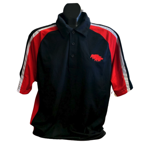 Rhino Polo- Red, Black, and White
