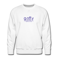 Men's Premium Sweatshirt White - Weiß