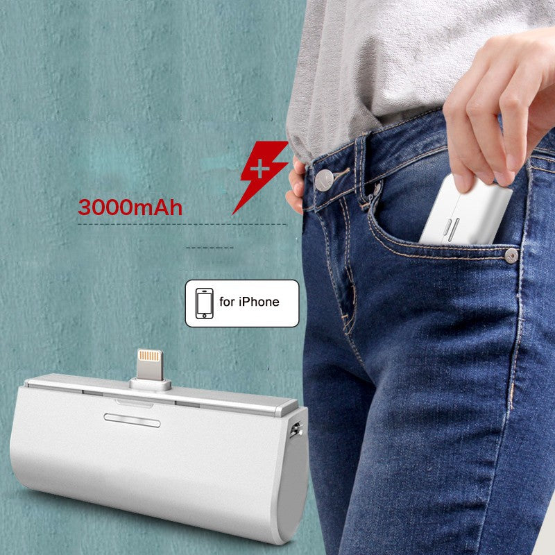 Portable & Powerful Mini PowerBank for IPhone and Android Both