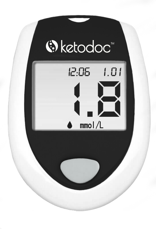 KetoDoc Advanced Ketone Blood Meter Kit