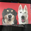Custom Pet Portait Canvas [Square]