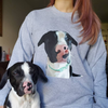 Custom Pet Portrait Sweater - Stray Faces