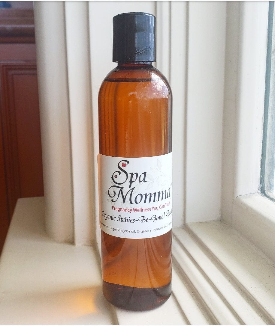 image descriptionSpa Momma Itchies-Be-Gone! Organic Body Oil