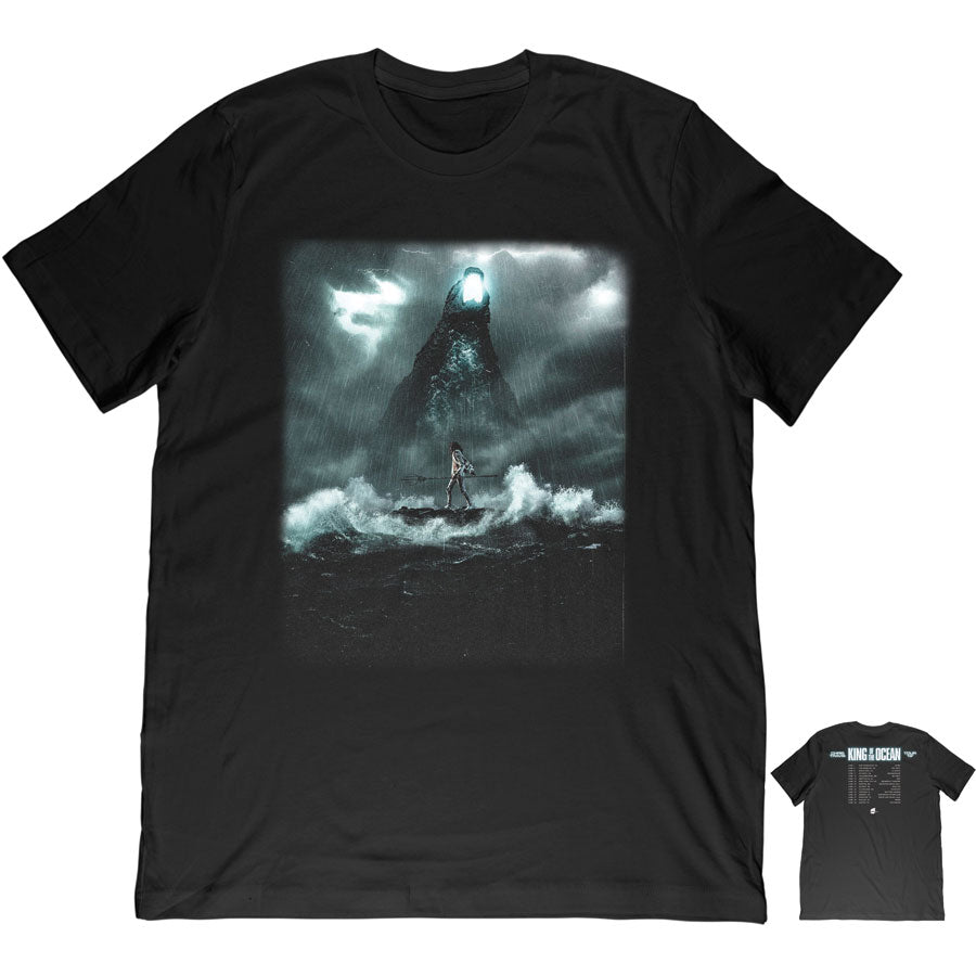 King of the Ocean Tour Tee - Black