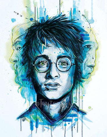 TAY-14 11x14 Harry Potter Print