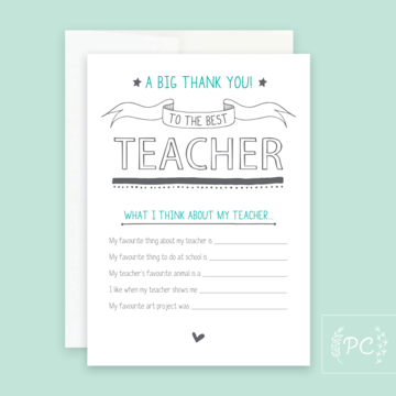 PCP-016 Teacher (Choose from drop down list)