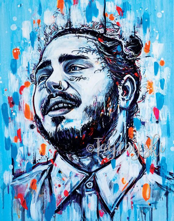 TAY-20 11x14 Post Malone Prints
