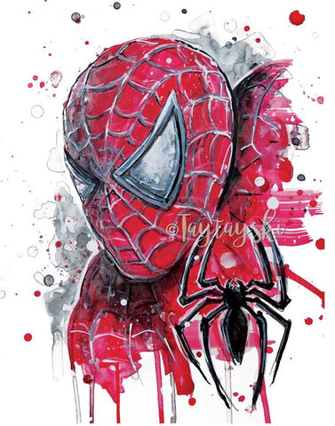 TAY-22 11x14 Spiderman Prints