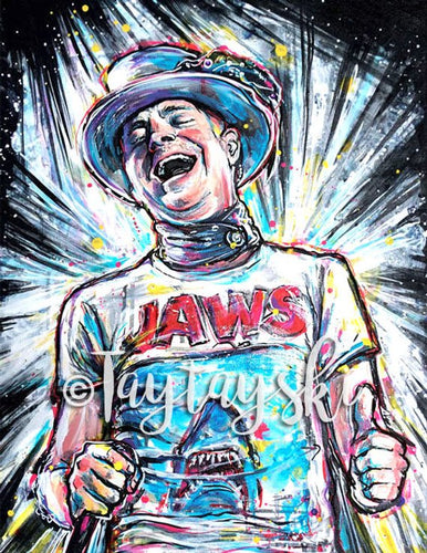 TAY-12 11x14 Gord Downie Print The Tragically Hip