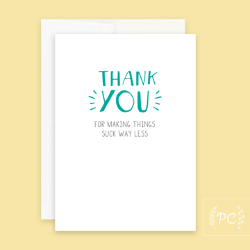 PCP-016 Thank You (Choose from drop down list)