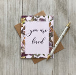 LOFT-1058 You Are Loved -Blank