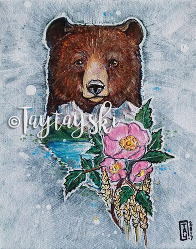 TAY-28 8x10 Alberta Bear Prints