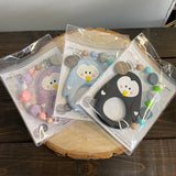 P2P-4 Penguin Teether With Clip