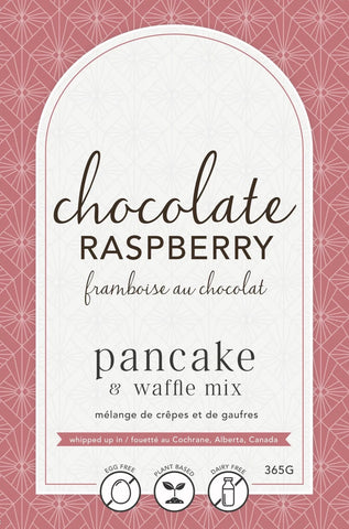 LAN- Chocolate Raspberry Pancake Mix