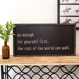 FAS-027 Be Enough 12x24