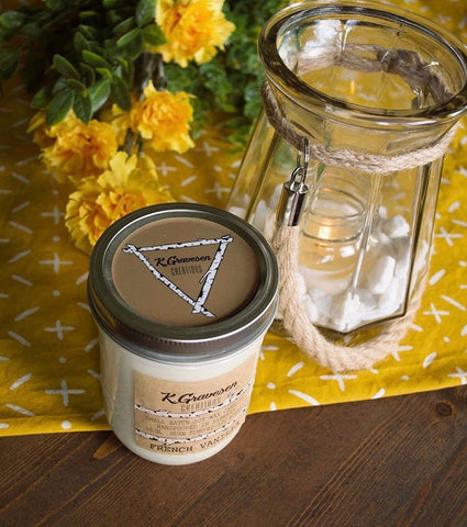 KGC-21 French Vanilla Soy Candle KGC-43