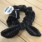 HTS-02 VELVET Regular Bow Scrunchie (choose from drop down list)