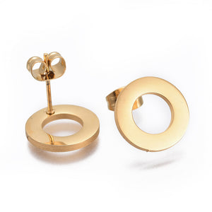 RSH-04 Stainless Steel (Shape Earrings Choose FromDrop Down List)