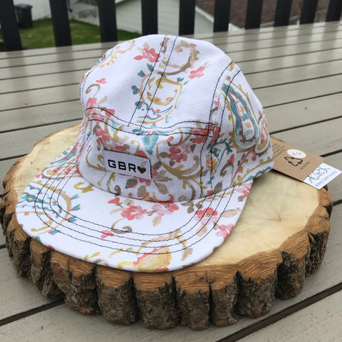 GBR-08 Full Print 5 Panel Adult Scrap Hats