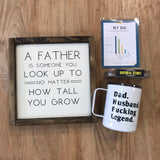 LOCAL Fathers Day Value Bags! $75 of gifts for only $50