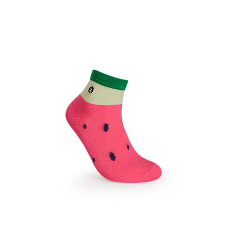 URB-03 WATERMELON ANKLE SOCKS- -Unisex Ankle Socks