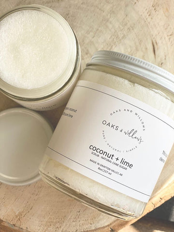 OAW-09 Sugar Scrub - Coconut & Lime 8oz