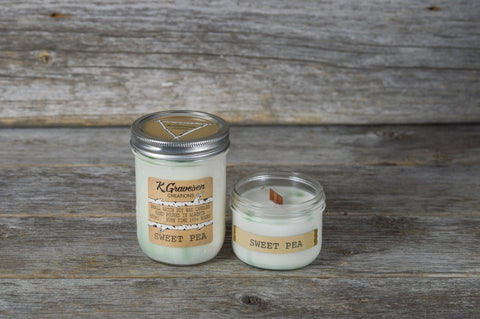 KGC-40 Sweet Pea Soy Candle