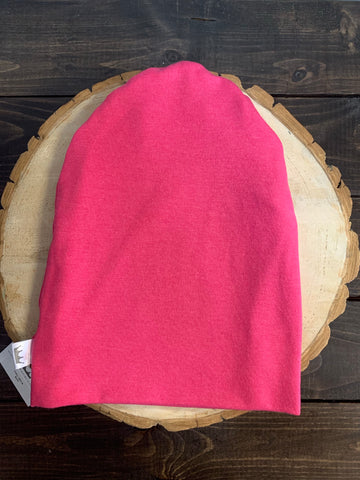 PAC-BEA-$30 CHILD Pink Knit Beanie