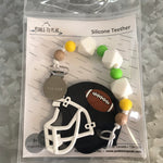 P2P-4 Football Teether With Clip