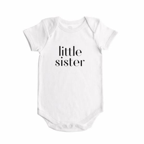 DOT-01 Little Brother/Sister/ Baby Onesie