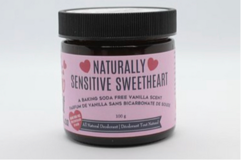 ILI-01-20 Naturally *Sensitive* Sweetheart- Baking Soda Free Deodorant