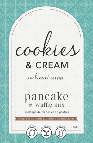 LAN- Cookies & Cream Pancake Mix