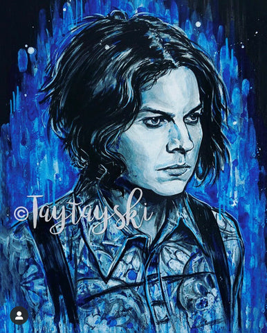 TAY-51 11x14 Jack White The White Stripes