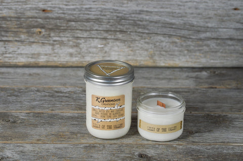KGC-47 Lilly Of The Valley Soy Candle