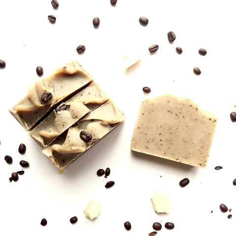 LSW-22 Cold Brew Coffee Scrub Bar Soap