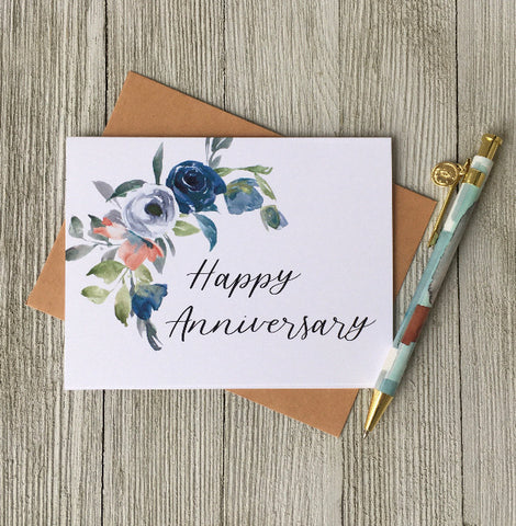 LOFT-1042 Happy Anniversary Blank Card