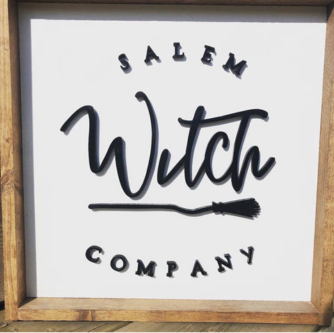 NAM-01 12x12 Salem Witch Company Sign