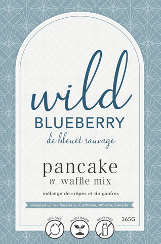 LAN- Wild Blueberry (contains Blueberries) Pancake Mix