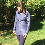 PC-03-M Medium Navy Athletic Knit Dressy Sweater