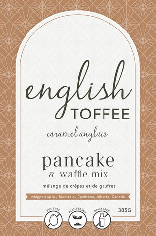 LAN- English Toffee Pancake Mix