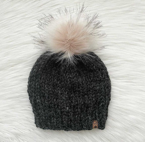 KBK-01 Ladies/Teen Fitted Knit Hat