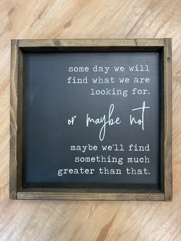 FAS-010 Maybe We'll Find Something 12x12