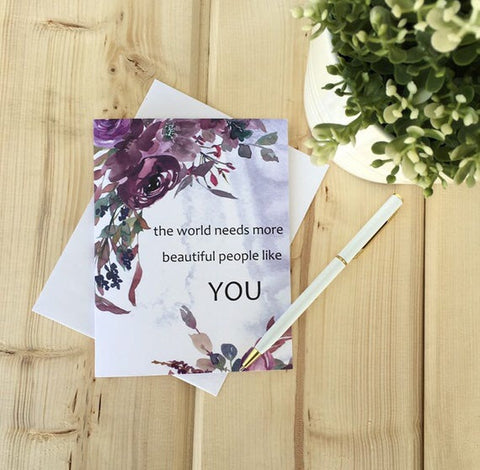 LOFT-1021 The world needs more People Like you Card