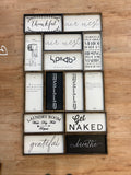 WR-30 Small Rectangle Signs $30