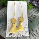DFC-14G Gold Dangle Earrings-Choose from drop down list
