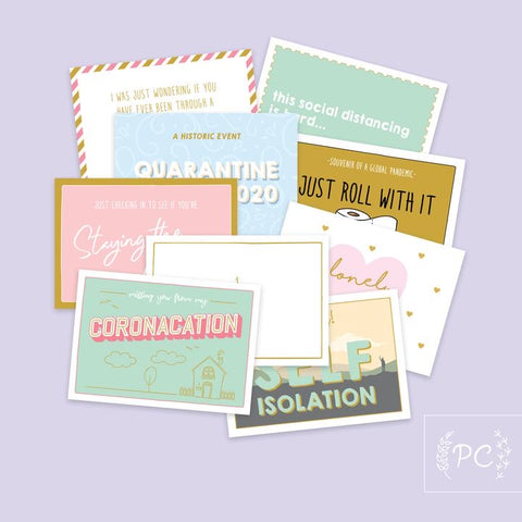 PCP- 01 Postcards -Coronacation Set Of 9