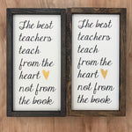 FAS-070 Teacher $20 Signs 8x8/6x12