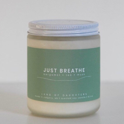 LOD-03 Just Breathe Candle