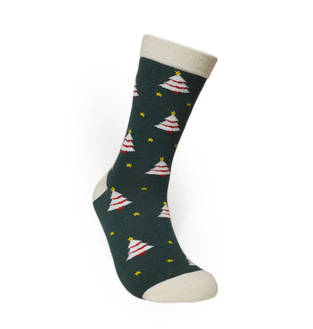 URB-02 CHRISTMAS TREE- Unisex Crew Socks