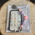P2P-4 Camera & Cell Phones Teether With Clip